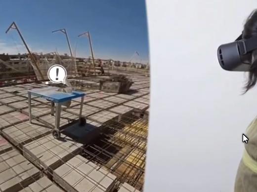 Audiovisual interactivo 360º Seguridad en estructuras y forjados – ITSS