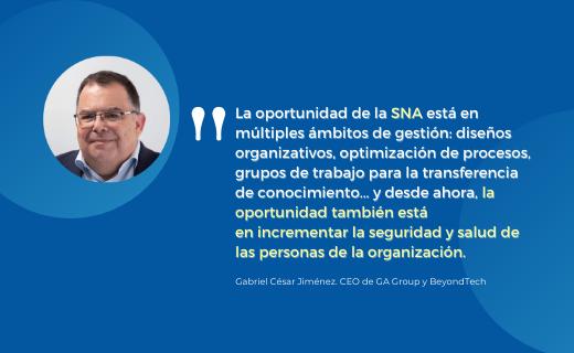 SNA, análisis de redes sociales e interacción real entre personas para mejorar la seguridad de los equipos