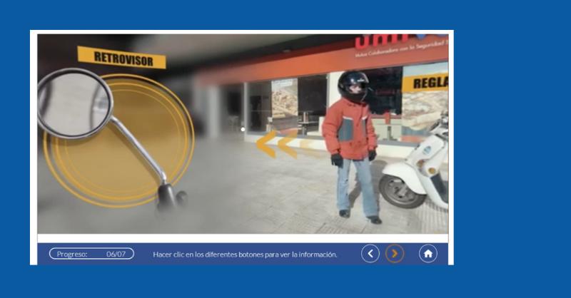 Seguridad vial para trabajadores motoristas: la utilidad del vídeo 360